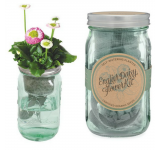 English Daisy Garden Jar